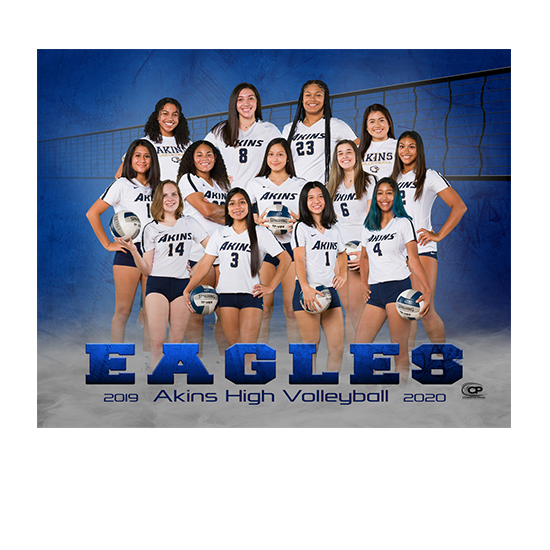 2020-2021 Akins Volleyball